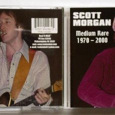 CDs de Música: CD: SCOTT MORGAN - MEDIUM RARE 1970-2000 (REAL O MIND) RATIONALS SONIC'S RENDEZVOUS . Lote 165840550