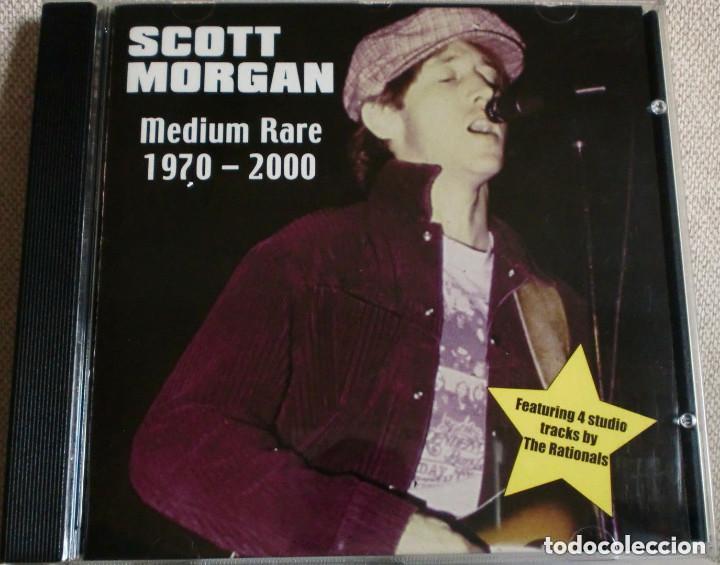 CDs de Música: CD: SCOTT MORGAN - Medium Rare 1970-2000 (Real O Mind) Rationals Sonics Rendezvous - Foto 3 - 165840550