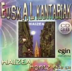 CDs de Música: HAIZEA HONTZ GAUA - FOLK ROCK PROGRESIVO VASCO 1979 - BASQUE FOLK PROG ROCK. Lote 165840642