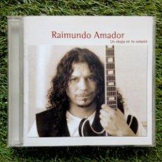 CDs de Música: RAIMUNDO AMADOR - UN OKUPA EN TU CORAZÓN, UNIVERSAL MUSIC, 2000. SPAIN.. Lote 165843054