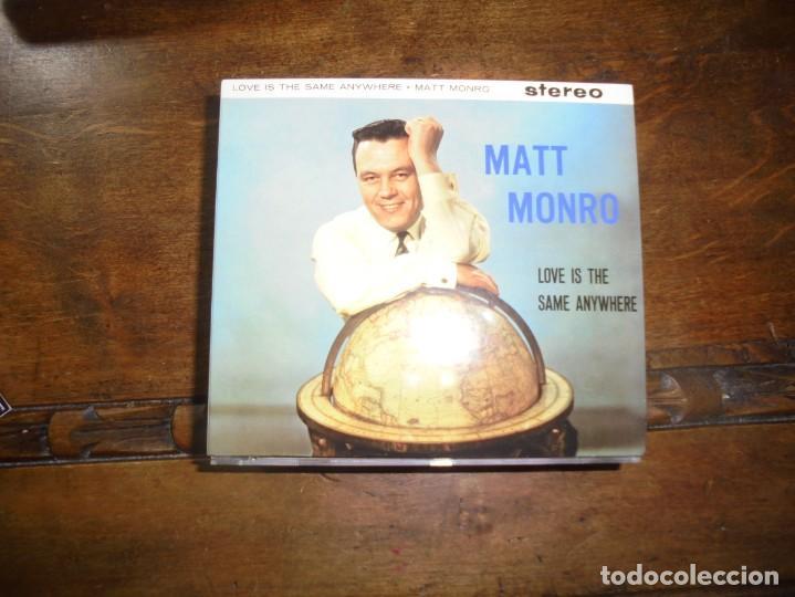 MATT MONRO. LOVE IS THE SAME ANYWHERE.. EMI, 1997. CD DIGIPACK. IMPECABLE (#) (Música - CD's Pop)