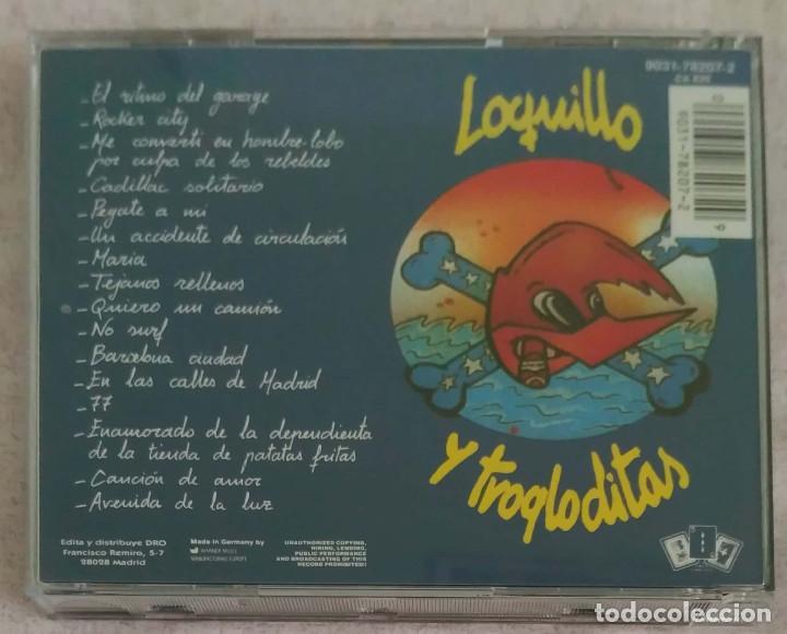 CDs de Música: LOQUILLO Y TROGLODITAS (EL RITMO DEL GARAJE) CD - Foto 2 - 165893922