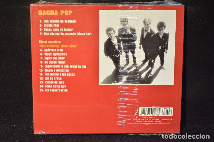 CDs de Música: NACHA POP - MAS NUMEROS, OTRAS LETRAS - CD - Foto 2 - 165945934