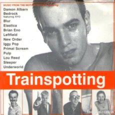 CDs de Música: TRAINSPOTTING - ELASTICA, LOU REED, UNDERWORLD, IGGY POP, PULP, ENO... - CD 14 TRACKS - EMI 1996. Lote 165956154