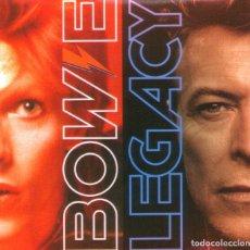 CDs de Música: DAVID BOWIE - LEGACY - CD DE 20 TRACKS - EDITA PARLOPHONE RECORDS - AÑO 2016.. Lote 165956814