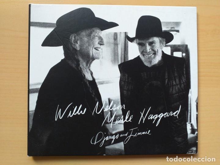 WILLIE NELSON MERLE HAGGARD - DJANGO AND JIMMIE. (CD) (Música - CD's Country y Folk)