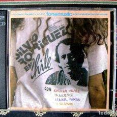 CDs de Música: SILVIO RODRIGUEZ EN CHILE.CON CHUCHO VALDES-IRAKERE-ISABEL PARRA..DOBLE CD...DIFICIL 1ª EDICION. Lote 165967750