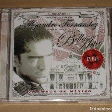 CDs de Música: (SIN ABRIR) ALEJANDRO FERNANDEZ - UN CANTO DE MÉXICO (EN VIVO DESDE EL PALACIO DE BELLAS ARTES) 2CD . Lote 165979586