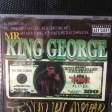 CDs de Música: MR. KING GEORGE-TRU PLAYER-USA-PRECINTADO NUEVO-RARO. Lote 165997268
