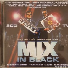 CDs de Música: MIX IN BLACK MIXED BY JORDI LUQUE & QUIM QUER. Lote 166000066