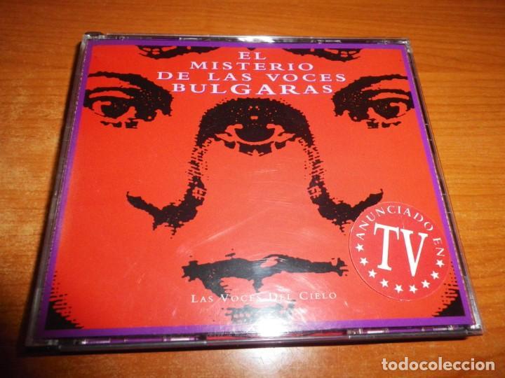 EL MISTERIO DE LAS VOCES BULGARAS LAS VOCES DEL CIELO DOBLE CD ALBUM 1994 POLEGNALA E TODORA 2 CD (Música - CD's World Music)