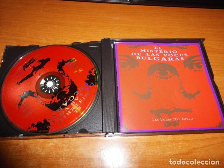 CDs de Música: EL MISTERIO DE LAS VOCES BULGARAS Las voces del cielo DOBLE CD ALBUM 1994 POLEGNALA E TODORA 2 CD - Foto 2 - 166036334