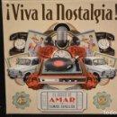 CDs de Música: AMAR EN TIEMPOS REVUELTOS - ¡ VIVA LA NOSTALGIA! - 4 CD. Lote 166093070