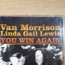 CDs de Música: VAN MORRISON LINDA GAIL LEWIS YOU WIN AGAIN. Lote 166144430