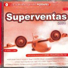 CDs de Música: CD SUPERVENTAS 2004 - LOS SUPERÉXITOS MÁS POTENTES 30 TEMAS / 2 CDS. Lote 166198318