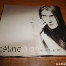 CDs de Música: CELINE DION ON NE CHANGE PAS 2 CD + DVD DIGIPACK 2005 JEAN JACQUES GOLDMAN EUROVISION 1988 INEDITOS. Lote 166232594