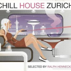 CDs de Música: CHILL HOUSE ZURICH. VARIOUS SELECTED BY RALPH HENNECKE ?– WPM RECORDS ?– WPM 10524 2. Lote 166245770