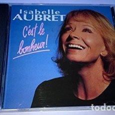 CDs de Música: ISABELLE AUBRET ?– C'EST LE BONHEUR DISQUES MEYS ?– 474 001-2 AÑO 1993. Lote 166247802