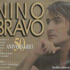 CDs de Música: NINO BRAVO - 50 ANIVERSARIO - 2XCD RECOPILATORIO. Lote 166253154