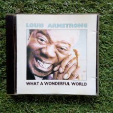 CDs de Música: LOUIS ARMSTRONG - WHAT A WONDERFUL WORLD, MCA RECORDS, 1991. SPAIN.. Lote 166259620