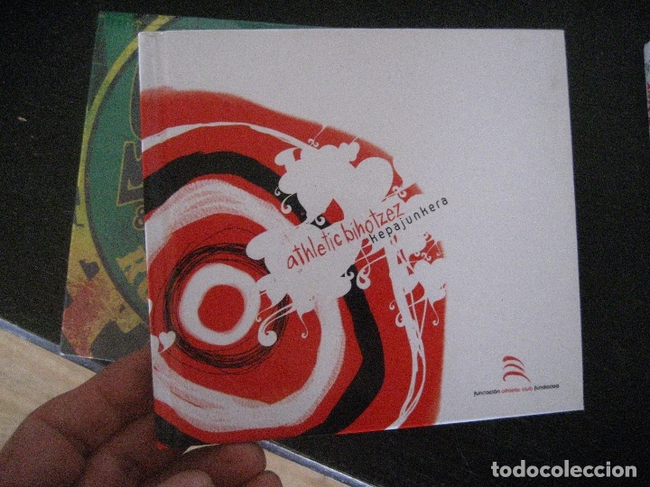 CD ATHLETIC CLUB BILBAO. ATHLETIC BIHOTZEZ. KEPA JUNKERA. 2004. NUEVO. FUTBOL (Música - CD's Reggae)