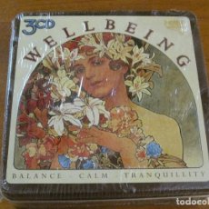 CDs de Música: WELLBEING - BALANCE-CALM-TRANQUILLITY - PACK/BOX SET 3 CD'S PRECINTADO.. Lote 166279322
