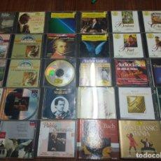 CDs de Música: LOTE DE 36 CD'S VARIOS ARTISTAS. MÚSICA CLÁSICA. CONSULTAR FOTOGRAFÍAS DETALLADAS.. Lote 166284898