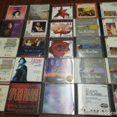 CDs de Música: LOTE DE 25 CD'S VARIOS ARTISTAS. MÚSICA CLÁSICA Y ÓPERA. CONSULTAR FOTOGRAFÍAS DETALLADAS.. Lote 166284990