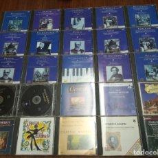 CDs de Música: LOTE DE 25 CD'S VARIOS ARTISTAS. MÚSICA CLÁSICA. CONSULTAR FOTOGRAFÍAS DETALLADAS.. Lote 166285086