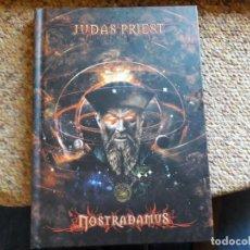 CDs de Música: JUDAS PRIEST , NOSTRADAMUS , DIGIBOOK 2XCD EDICION ESPECIAL ESTADO IMPECABLE. Lote 166299002