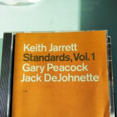 CDs de Música: KEITH JARRETT, GARY PEACOCK, JACK DEJOHNETTE – STANDARDS, VOL. 1. Lote 166351318