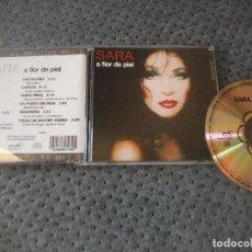 CDs de Música: SARA MONTIEL, FLOR DE PIEL, CD ALBUM, (FANGORIA, NACHO CANUT, BERLANGA). Lote 166371930