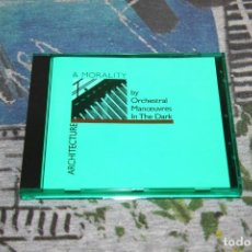 CDs de Música: ORCHESTRAL MANOEUVRES IN THE DARK - ARCHITECTURE & MORALITY - VIRGIN - 0777 7 86484 2 0 - CD. Lote 166394274
