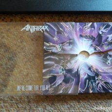 CDs de Música: ANTHRAX , WE' VE COME FOR YOU ALL , CD EDICIÓN LIMITADA ESTADO IMPECABLE. Lote 166395458