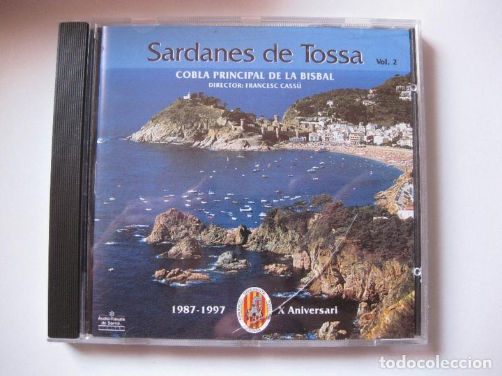 COBLA PRINCIPAL DE LA BISBAL - SARDANES DE TOSSA VOL.2 - CD AUDIOVISUALS DE SARRIÀ 1997 BPY (Música - CD's Otros Estilos)