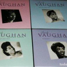 CDs de Música: 4 CD SARAH VAUGHAN - YOUNG SASSY 1944 - 1950 SUS INICIOS REMASTERIZADO PRECINTADO. Lote 123083451