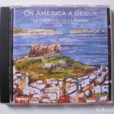 CDs de Música: COBLA PRINCIPAL DE LA BISBAL - UN AMERICÀ A BEGUR - HOMENATGE ARTIE SHAW - CD 2002 BPY. Lote 166431702