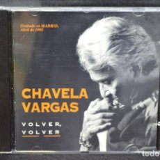 CDs de Música: CHAVELA VARGAS - VOLVER, VOLVER - CD. Lote 166496206
