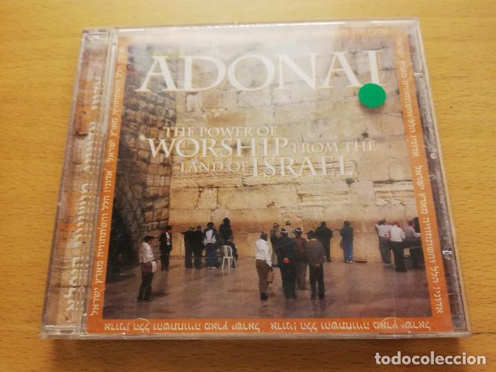 ADONAI. THE POWER OF WORSHIP FROM THE LAND OF ISRAEL (CD) (Música - CD's Otros Estilos)