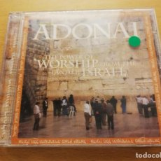 CDs de Música: ADONAI. THE POWER OF WORSHIP FROM THE LAND OF ISRAEL (CD). Lote 166532758