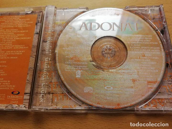 CDs de Música: ADONAI. THE POWER OF WORSHIP FROM THE LAND OF ISRAEL (CD) - Foto 2 - 166532758