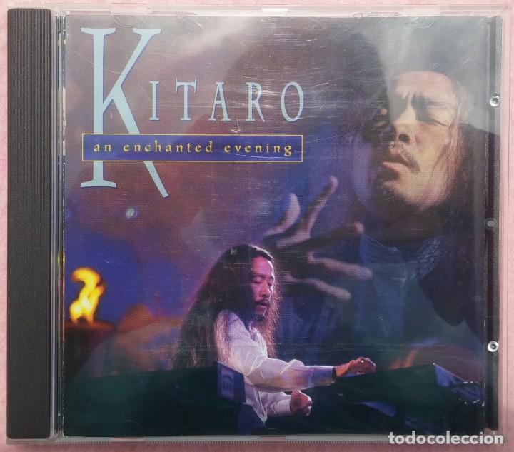 KITARO – AN ENCHANTED EVENING (DOMO, 1996) /// VANGELIS / JEAN MICHEL JARRE / ENYA / KLAUS SCHULZE (Música - CD's New age)