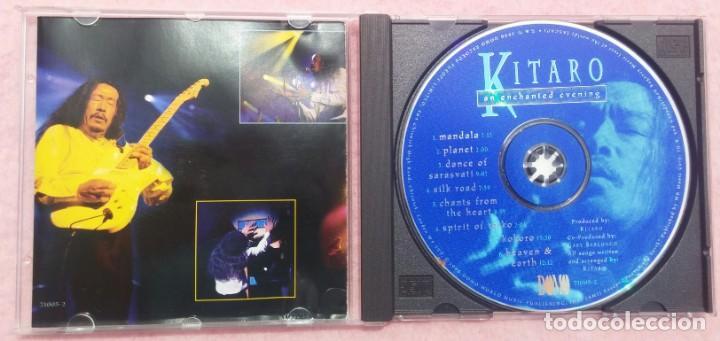 CDs de Música: Kitaro – An Enchanted Evening (Domo, 1996) /// VANGELIS / JEAN MICHEL JARRE / ENYA / KLAUS SCHULZE - Foto 2 - 166597502