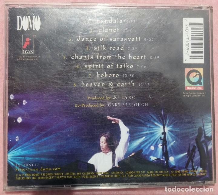 CDs de Música: Kitaro – An Enchanted Evening (Domo, 1996) /// VANGELIS / JEAN MICHEL JARRE / ENYA / KLAUS SCHULZE - Foto 3 - 166597502