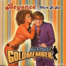 CDs de Música: BEYONCÉ - WORK IT OUT - CD SINGLE - UK 2002 - COLUMBIA - 672982 2. Lote 166608574