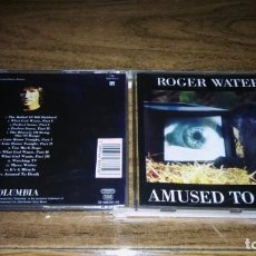 CDs de Música: ROGER WATERS - AMUSED TO DEATH. Lote 166635122