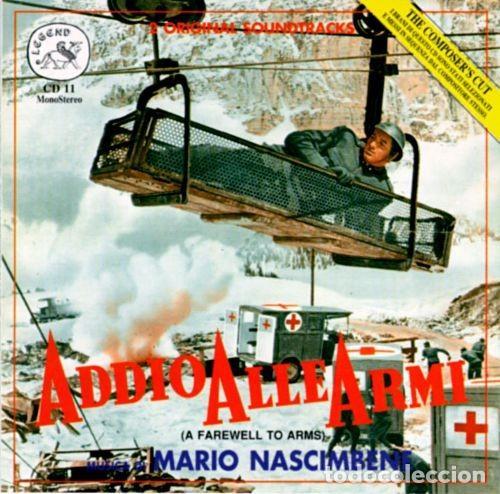 ADDIO ALLE ARMI + LA CONTESSA SCALZA / MARIO NASCIMBENE CD BSO (Música - CD's Bandas Sonoras)