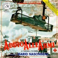 CDs de Música: ADDIO ALLE ARMI + LA CONTESSA SCALZA / MARIO NASCIMBENE CD BSO. Lote 249091755
