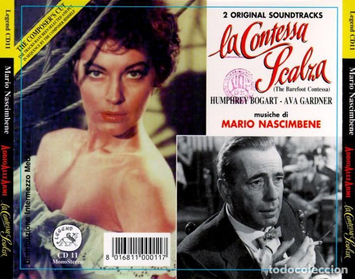 CDs de Música: ADDIO ALLE ARMI + LA CONTESSA SCALZA / Mario Nascimbene CD BSO - Foto 2 - 249091755