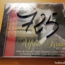 CDs de Música: HOMENAJE A UNA VOZ. ÓPERA. ALFREDO KRAUS 1927 - 1999 (CD PRECINTADO). Lote 166705274